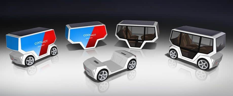 Rinspeed microSNAP / CES 2019